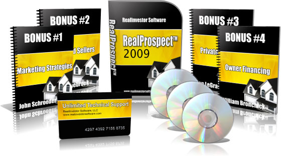 real estate investor software product image